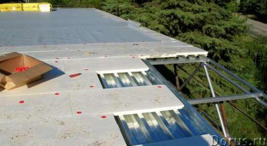 Монтаж кровельной пвх мембраны на плоских крышах