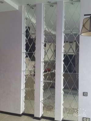 Зеркала влагостойкие, зеркальные панно, зеркала в багетах