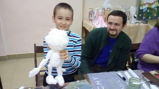 Арт-мастерская авторская кукла занятие для детей и взрослых