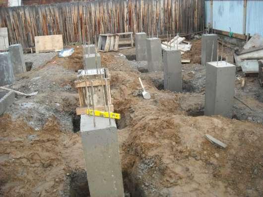Подъем домов, устройство фундамента в Москве Фото 4