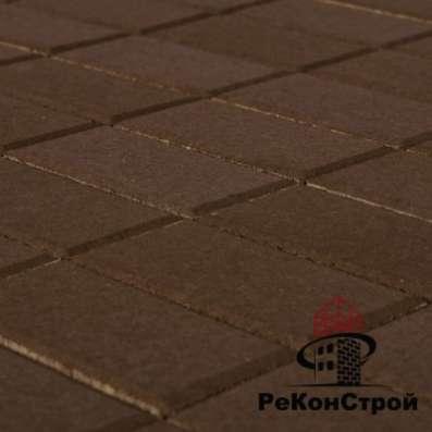 Плитка тротуарная, Прямоугольник, Коричн в Белгороде Фото 1