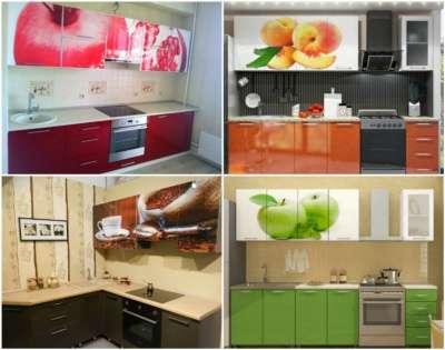 Кухня с фотопечатью 24mdv