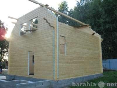 Стеновой комплект дома из клееного бруса