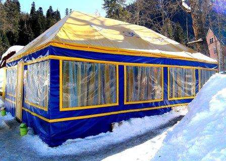 Шатер для кафе в Волгограде Фото 1