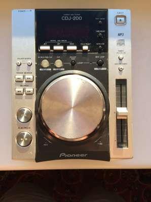 CD-проигрыватель cdj-200 в Москве Фото 5