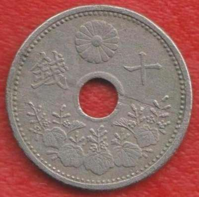 Япония 10 сен 1921 г.