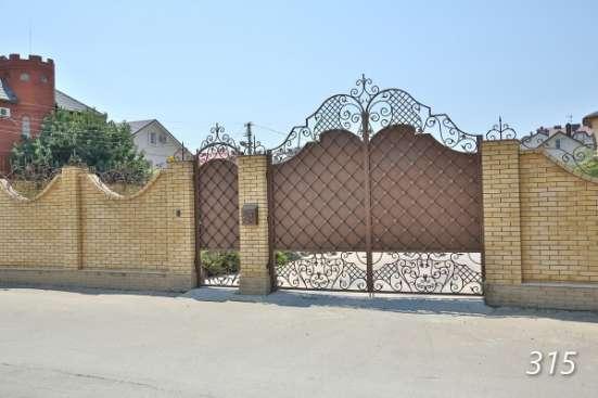 Ворота кованые, ворота калитка заказать, ворота ковка холодная, калитки под заказ в Барнауле Фото 2