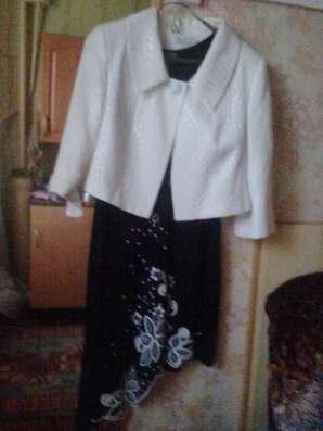 Вечернее платье и пиджак