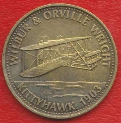 Жетон Shell Шелл Авиация Братья Райт 1903