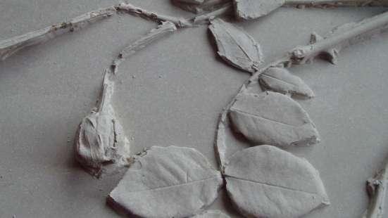Плитка и панно для декора стен. Фитолепнина. Ручная работа