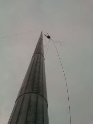 Высотные работы промышленный альпинизм в г. Астана Фото 1
