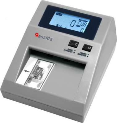 Детектор банкнот Cassida 3330 Rur полуавтомат