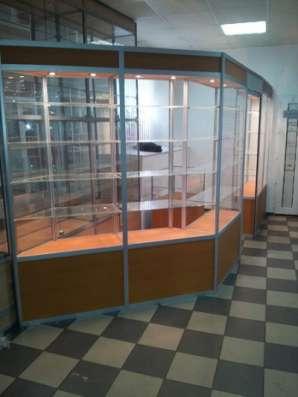 торговое оборудование Пристенный павильон в Москве Фото 2