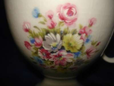 чайная пара с ручной росписью фарфор Евр