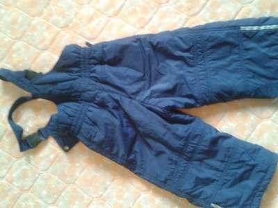 комбинезон (куртка и брюки) 92-105 cм. Тиллсон полукомбинезон