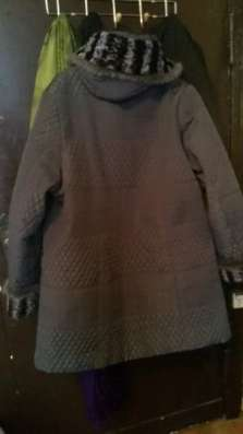 куртка отделанная мехом норочки раз54-58 в Калининграде Фото 3
