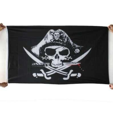 """Пиратский флаг """"Веселый Роджер&qu"""