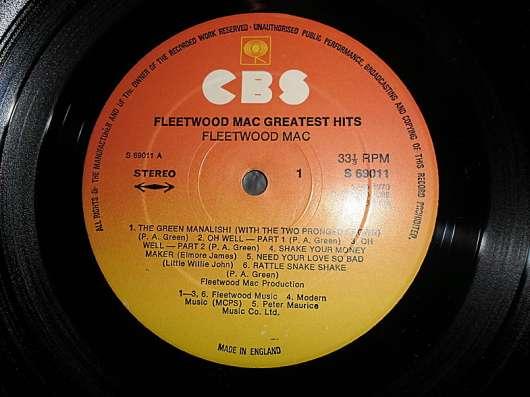 Fleetwood Mac – Fleetwood Mac Greatest Hits (UK) в Санкт-Петербурге Фото 2