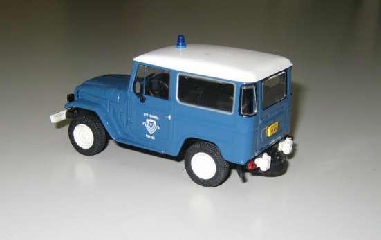 полицейские машины мира №18 TOYOTA LAND CRUISER FJ40 в Липецке Фото 5