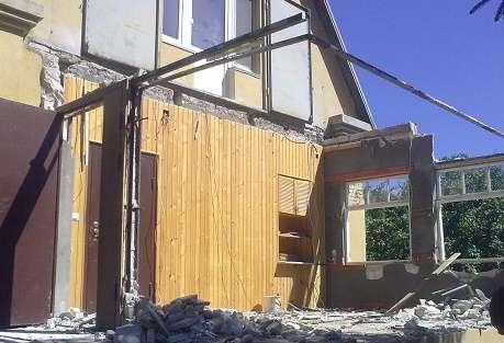 Снос, демонтаж дома, дачных построек. Вывоз