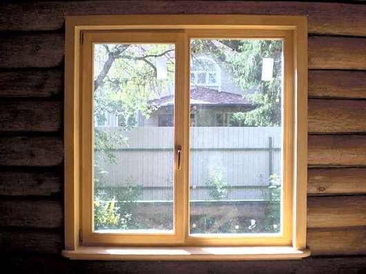 Дешевые деревянные окна со стеклопакетом для дома и дачи