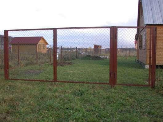 Ворота и калитки заборные в Шатуре