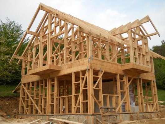 Строительство каркасных домов в Туле Фото 1