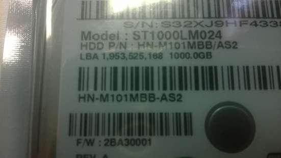 1Tb 2.5 ST1000LM024