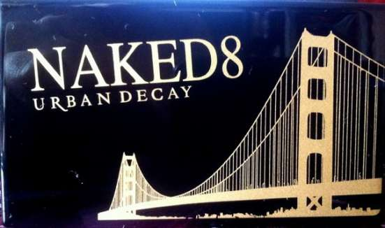 Тени для век NAKED8 URBAN DECAY