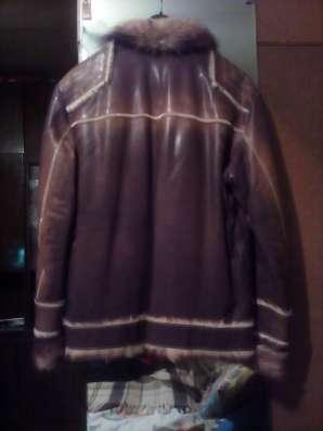 Куртка кожаная мужская