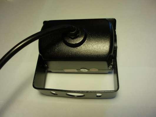 Камера заднего вида металлическая черная 18ик