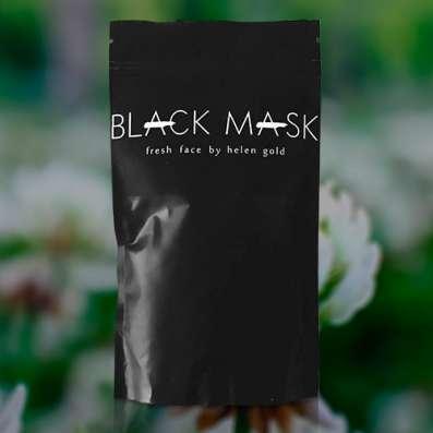 Маска от черных точек и прыщей Black Mask