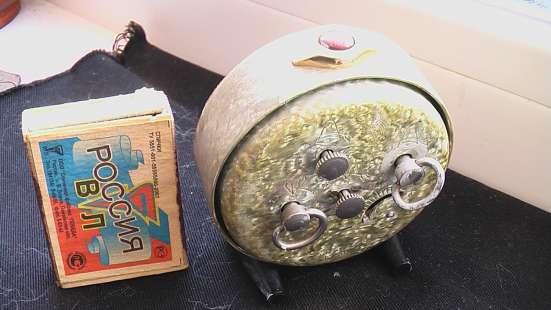 Часы будильник Слава СССР 1950 годы в Саратове Фото 1