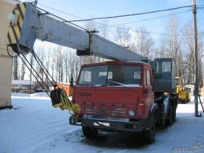 автокран КАМАЗ 53212