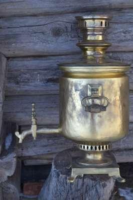Самовар царский Печать Колокол Шапка Мономаха с № 13967 золо