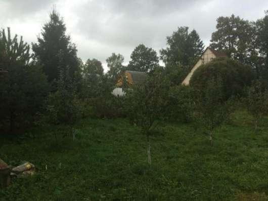 Продается земельный участок 12 соток с баней, в деревне Аникино, Можайский район, 86 км от МКАД по Минскому шоссе.