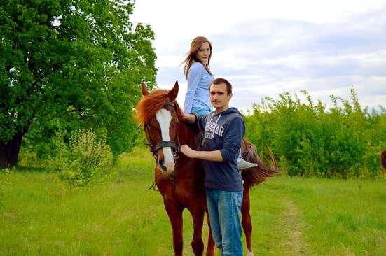Романтическая конная прогулка в Нижнем Новгороде Фото 3