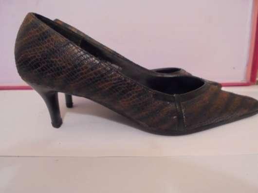 туфли коричневые, р.38