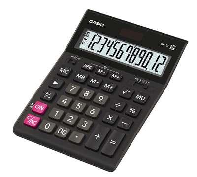 Калькулятор Casio GR-12-W-EH аналог Citizen 888