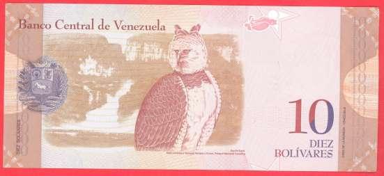 Венесуэла 10 боливаров 2013 г