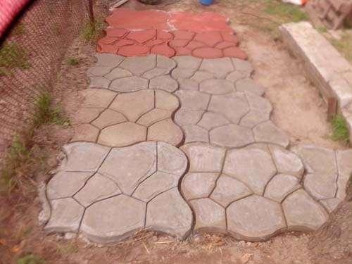Форма Круглые камни
