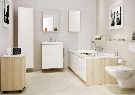Мебель в ванную комнату White