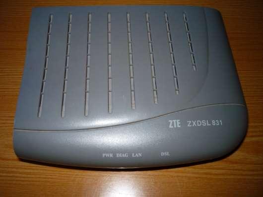 Модем AusLinx AL-2006 adsl + Модем ZTE zxdsl 831 в Москве Фото 1