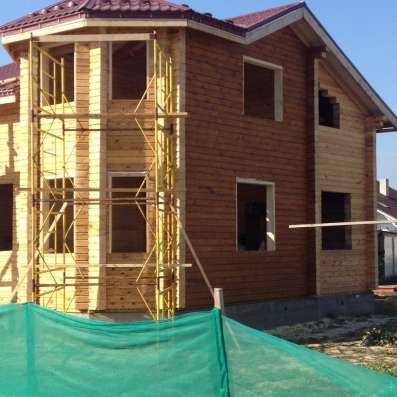Очистка деревянных домов от краски