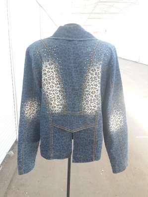 джинсовый костюм, р-р 50 в г. Алматы Фото 1