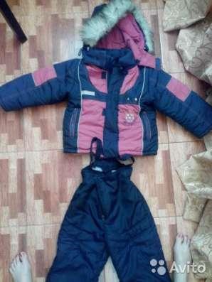 Зимний комплект для мальчика  92-104 см