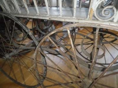 Старинная коляска в Москве Фото 3