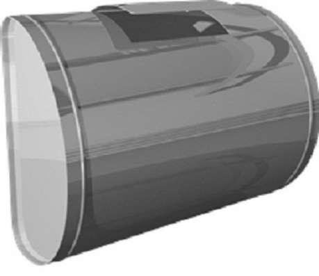 Бак для теплообменника, 70 л, горизонтальный