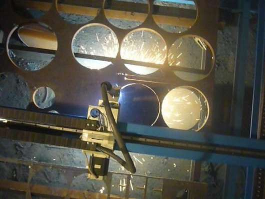 Портальная машина плазменной резки металла с ЧПУ в Новошахтинске.