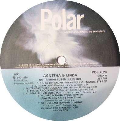 Agnetha And Linda - Nu Tandas Tusen Juleljus (ABBA)